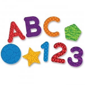 Learning Resources 7724 Magnetic Letters, Numbers and Shapes
