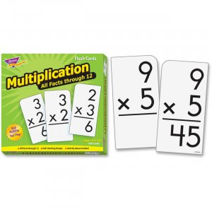TREND 53203 Multiplication 0-12 All Facts Skill Drill Flash Cards