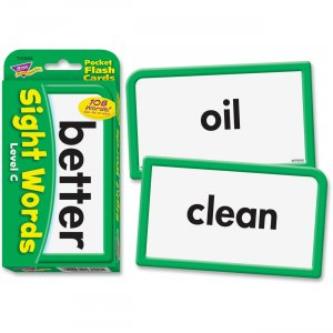 TREND 23029 Sight Words - Level C Pocket Flash Cards