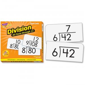 TREND 53204 Division 0-12 All Facts Skill Drill Flash Cards