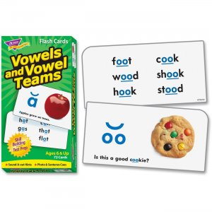 TREND 53008 Vowels and Vowel Teams Skill Drill Flash Cards