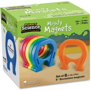 Learning Resources 0790 Horseshoe Magnets Set