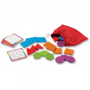 Learning Resources 9075 Tac-Tiles Teaching Set
