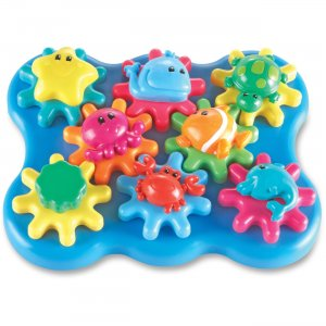 Learning Resources 9220 Jr Gears Under Sea Building Set