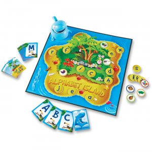 Learning Resources 5022 Alphabet Island Letter/Sounds Game