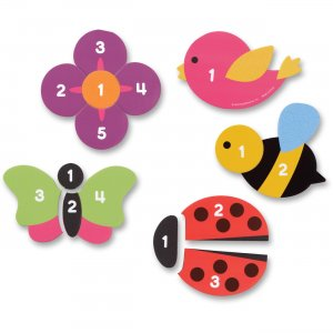 Learning Resources 7727 Magnetic Counting Garden Puzzles