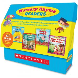Scholastic 054525020X Nursery Rhyme Readers Book Collection