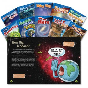 Shell 23423 4&5 Grade Earth and Science Books SHL23423