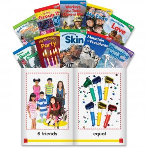 Shell 24704 Grade K Time for Kids Book Set 3 SHL24704