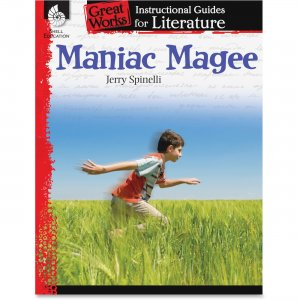 Shell 40210 Grade 4-8 Maniac Magee Instructional Guide SHL40210