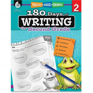 Shell 51525 2nd Grade 180 Days of Writing Book SHL51525