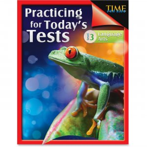 Shell 51436 TIME For Kids: Grade 3 Language Arts Test Guide SHL51436