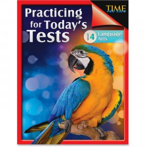 Shell 51437 TIME For Kids: Grade 4 Language Arts Test Guide SHL51437