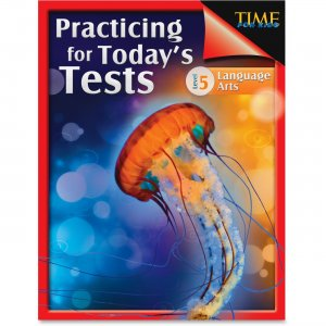 Shell 51438 TIME For Kids: Grade 5 Language Arts Test Guide SHL51438