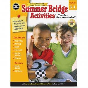 Summer Bridge 704699 Grade 3-4 Activities Workbook CDP704699