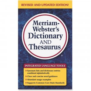 Merriam-Webster 8637 Dictionary/Thesaurus MER8637