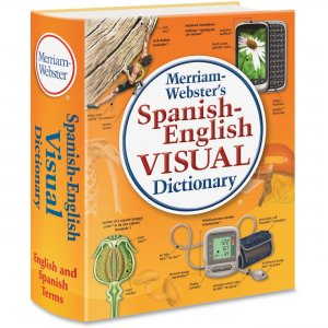 Merriam-Webster 2925 Spanish-English Visual Dictionary MER2925