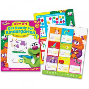 TREND 94127 Get Ready For Kindergarten Wipe-off Book TEP94127