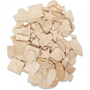 ChenilleKraft 369901 Natural Wooden Shapes