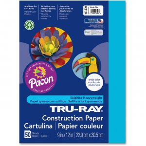 Tru-Ray 103400 Heavyweight Construction Paper PAC103400