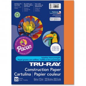 Tru-Ray 103404 Heavyweight Construction Paper PAC103404