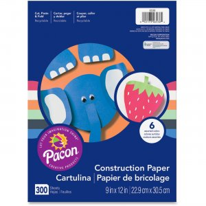 Pacon 6536 Lightweight Construction Paper PAC6536