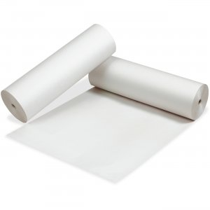 Pacon 3415 White Newsprint Paper Roll PAC3415