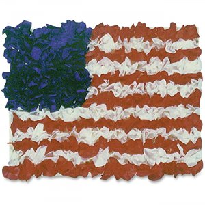 Hygloss 41004 American Flag Tissue Craft Kit