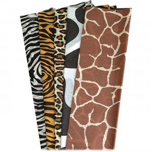 Hygloss 88209 Animal Print Designer Tissue Paper