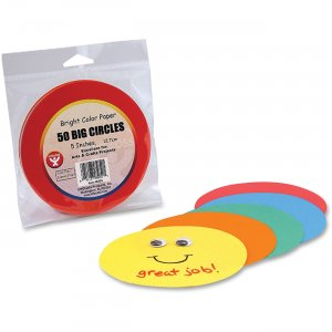 Hygloss 5052 Color Paper Circles