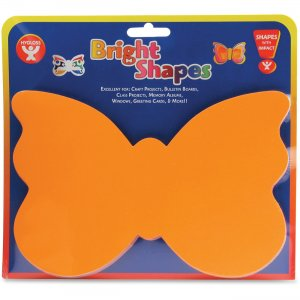 Hygloss 68002 Bright Color Butterfly Shapes HYX68002