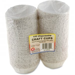 Hygloss 36100 Disposable Craft Cups HYX36100