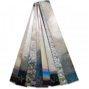 Hygloss 17013 Non-gummed Holographic Chain Strips HYX17013