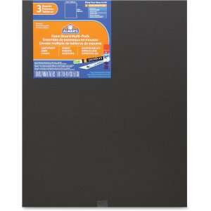 Elmer's 950025 3-pack Black Foam Boards EPI950025