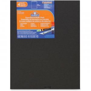 Elmer's 950024 4-pack Black Foam Boards EPI950024