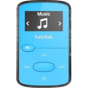 SanDisk SDMX26-008G-G46B Clip JAM 8GB Flash MP3 Player