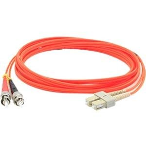 AddOn ADD-ST-SC-15M6MMF 15m Multi-Mode Fiber (MMF) Duplex ST/SC OM1 Orange Patch Cable