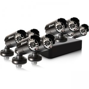 Swann SWDVK-8ALP18-US Compact Security System - 8 Channel Digital Video Recorder & 8 Cameras