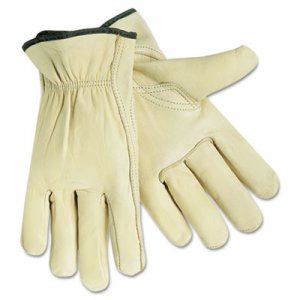 MCR Safety CRW3211XL Full Leather Cow Grain Gloves, X-Large, 1 Pair