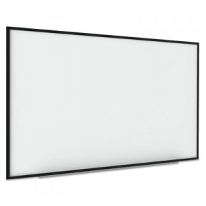 MasterVision BVCBI1591720 Interactive Magnetic Dry Erase Board, 90 x 52 7/10 x 4 1/5, White/Black Frame
