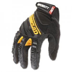 Ironclad IRNSDG204L SuperDuty Gloves, Large, Black/Yellow, 1 Pair