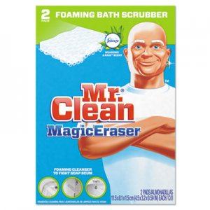 "Mr. Clean 84552CT Magic Eraser Bathroom Scrubber, 4 1/2"" x 3 1/5"", 2/Box, 16 Boxes/Carton PGC84552CT"