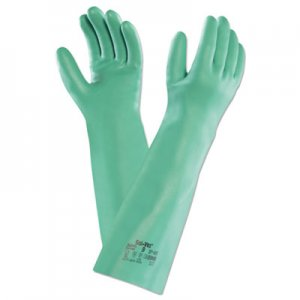 AnsellPro ANS371859PR Sol-Vex Nitrile Gloves, Size 9