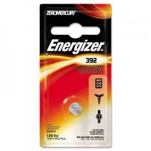 Energizer EVE392BPZ Watch/Electronic Battery, SilvOx, 392, 1.5V, MercFree