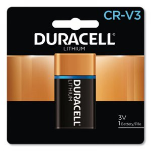 Duracell DURDLCRV3B Ultra High Power Lithium Battery, CRV3, 3V, 1/EA