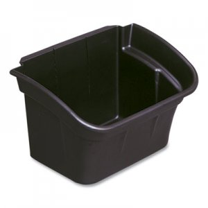 Rubbermaid Commercial RCP335488BLA Utility Bin, 4gal, Black
