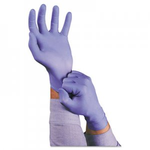 AnsellPro 92675M TNT Disposable Nitrile Gloves, Non-powdered, Blue, Medium, 100/Box ANS92675M