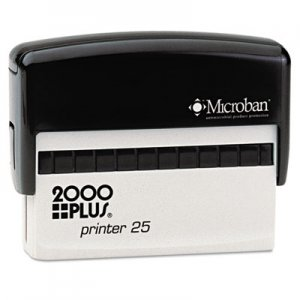 COSCO 2000PLUS COS1SI25P Self-Inking Custom Message Stamp, 3 x 5/8