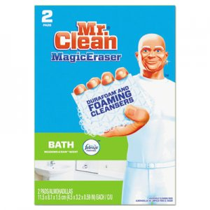 "Mr. Clean PGC84552 Magic Eraser Bathroom Scrubber, 4 1/2"" X 3 1/5"", 2/Box"