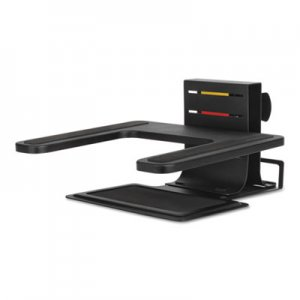 "Kensington KMW60726 Adjustable Laptop Stand, 10"" x 12 1/2"" x 3"" - 7""h, Black"